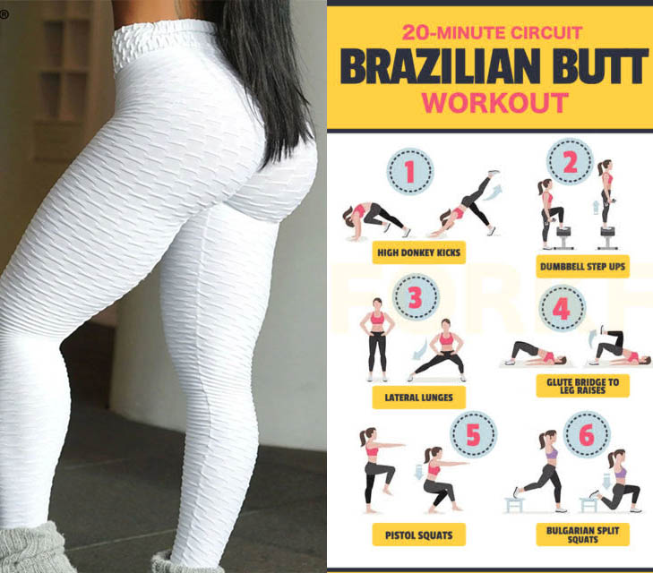 20 minute circuit brazilian butt workout